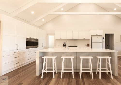 Modern Transformation - Cathedral Ceilings